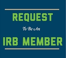 IRB Member Request form promotion image