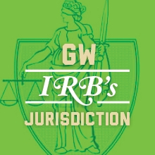 GW IRB's Jurisdiction