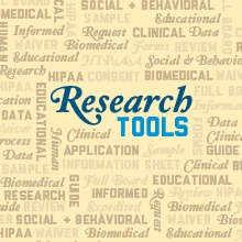 Research Tools Page